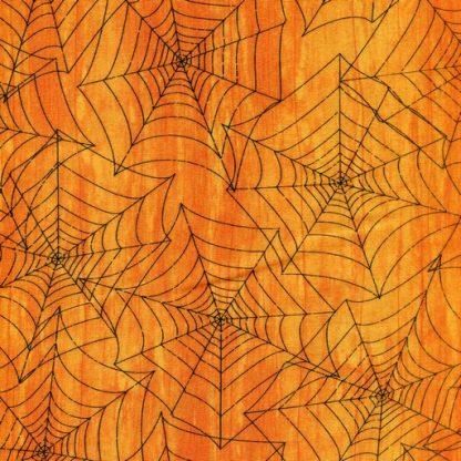Spiderwebs - Orange