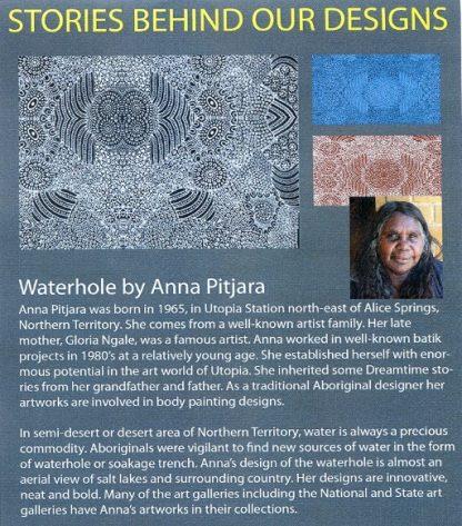Information on Waterhole by Anna Pitjara