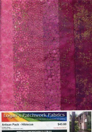 Artisan Shimmer Pack - Hibiscus