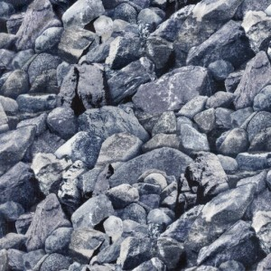 Large Rocks - Dusty Blue