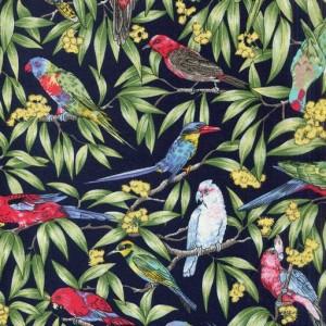 Birds in Paradise - Dark Navy