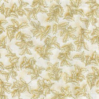 Holiday Flourish 7 14555-87 Holly - Gold
