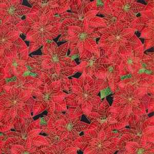 Holiday 1942 Poinsettias - Red