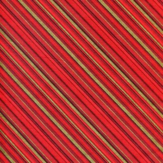 Christmas Seasons Greetings 3547G-10 Diagonal Stripe