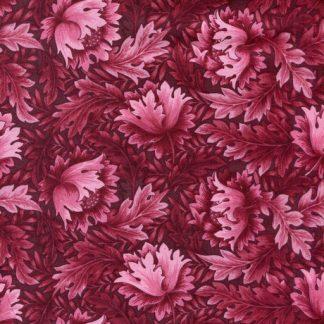 Tonal Floral - Deep Rose