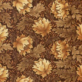 Tonal Floral - Deep Tan