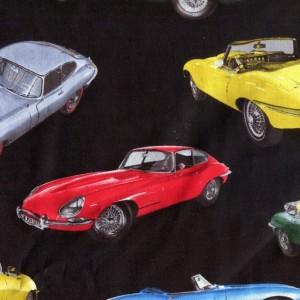 Classic British Racing Cars - Black