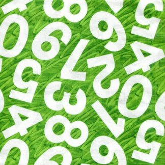 Numbers - Green