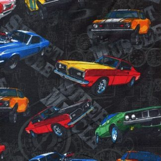 Muscle Cars - Black