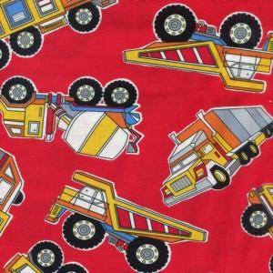 Construction Trucks - Red