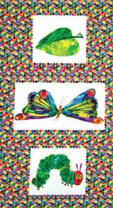 The Very Hungey Caterpillar Dot Panel
