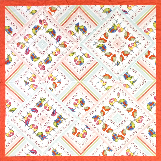 Bush Buddies Quilt - Red by Margaret Kirkby