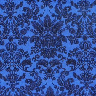Damask - Blue on Blue