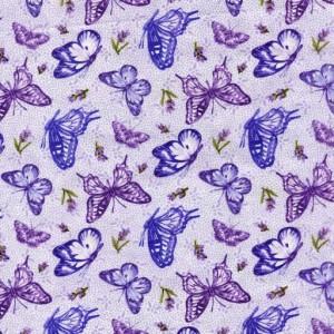 Lavender Butterflies 20753-81