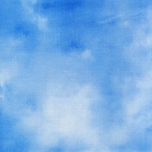 Whispy Clouds - Blue