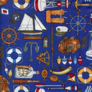 Nautical Equipment - Blue