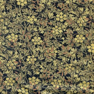 Floral Hedge - Black