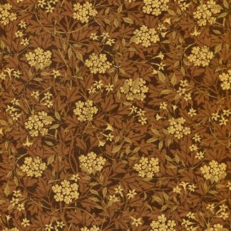 Floral Hedge - Brown