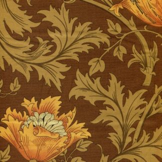 Winding Floral - Brown