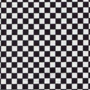 Quarter Inch Check - Black and White