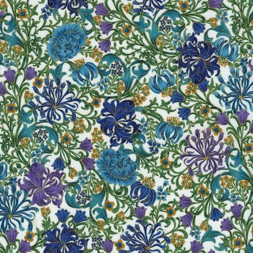 Suffolk Floral CM4214-Ivory