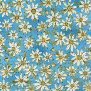Flannel Flowers - Blue