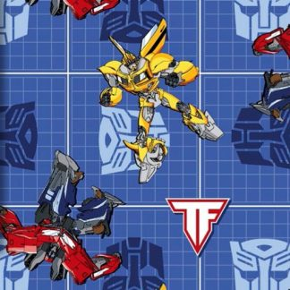 Transformers Patch - Blue