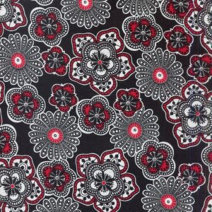 Floral - Black