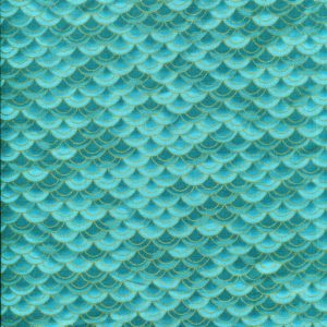 Dragon Scales - Teal