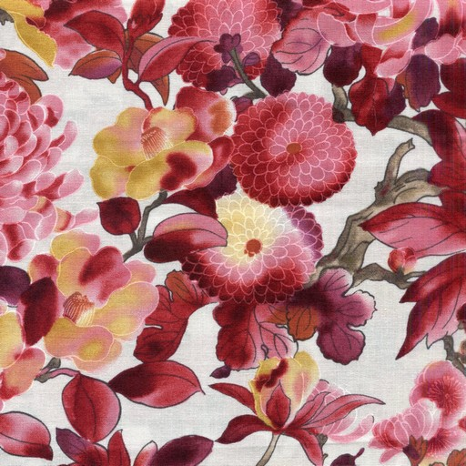 Large Mixed Floral - Red