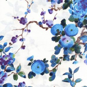 Mixed Floral - Blue