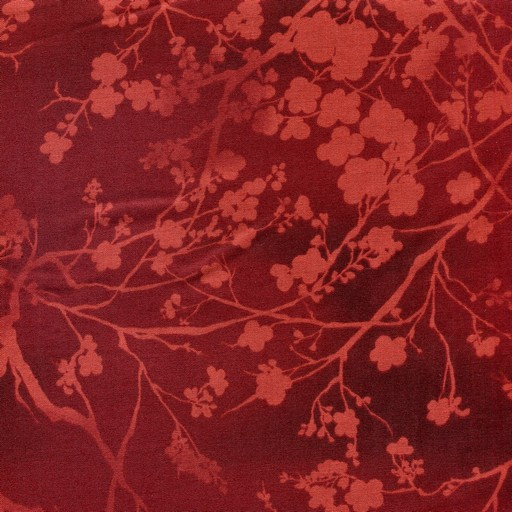 Blossom Silhouettes - Red