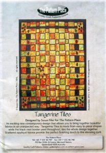 Tangerine Tiles Pattern