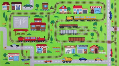 Connector Playmat Panel - Trains