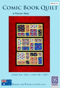 Comic Book Quilt Pattern