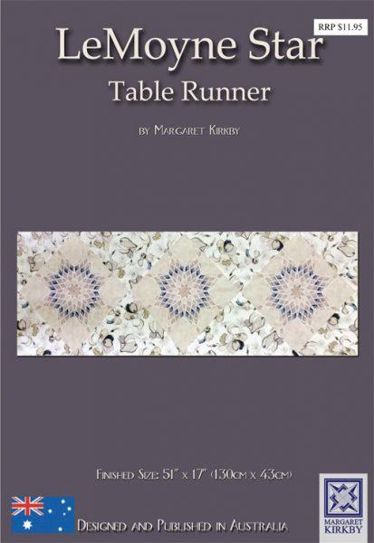 Le Moyne Star Table Runner Pattern