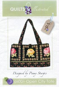 Open City Tote Pattern