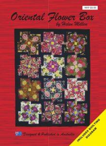 Oriental Flower Box Pattern