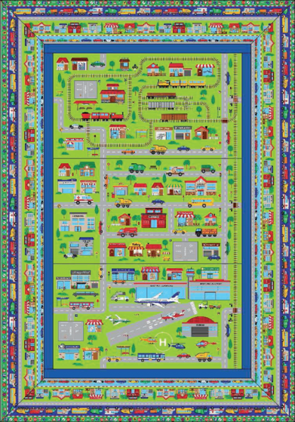 Busy Town Quilt