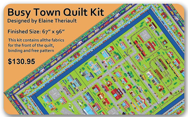 Busy Town Quilt Kit