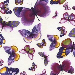 Butterflies - Ivory
