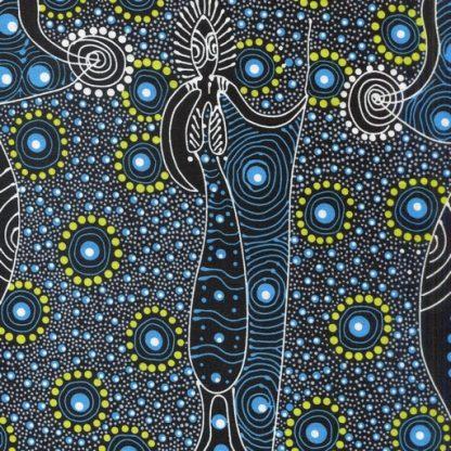 Dancing Spirit - Blue