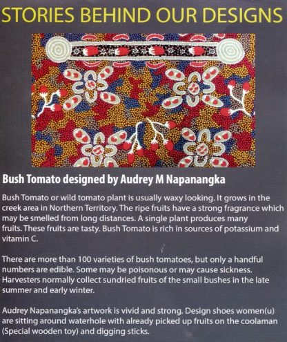 Information on Bush Tomato by Audrey Napanangka