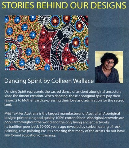 Information on Dancing Spirit by Colleen Wallace