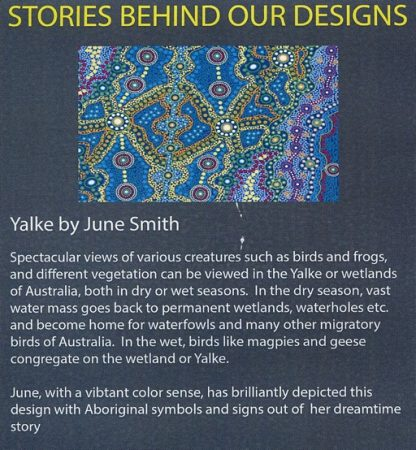 Information on Yalke designed by June Smith