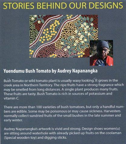 Information on Yuendumu Bush Tomato by Audrey Napanangka