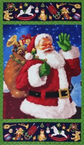 Santa's Surprise Panel