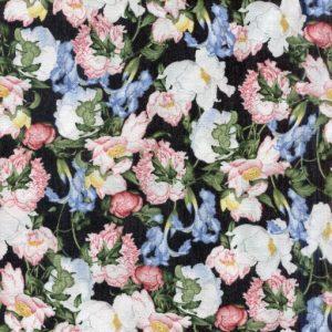Birdsong Floral - Black