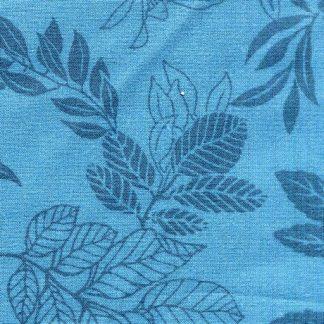 Modern Leaf - Blue 2872-17