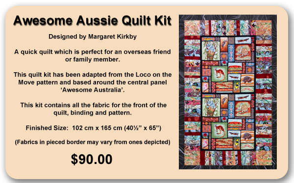 Awesome Aussie Quilt Kit
